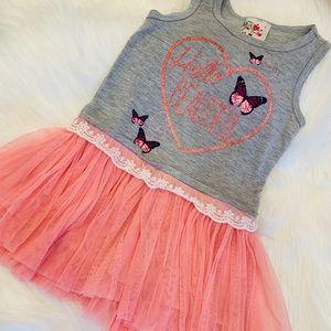 NWOT butterflies and tutu dress